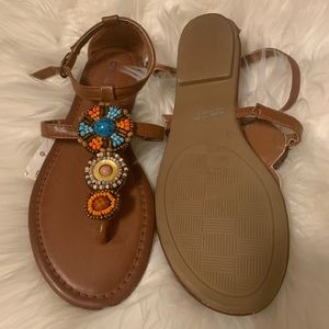 Chinese Laundry Shoes - NWT Chinese Laundry Flat Thong Sandals